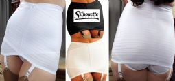 Silhouette Lingerie Open Girdle Shapewear with Garters ( XN1 )